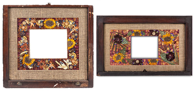 Window Framed Mats - Petal a memory